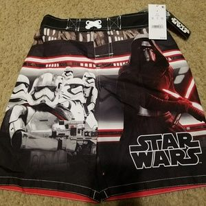 Other - New Small Star Wars swim trunks